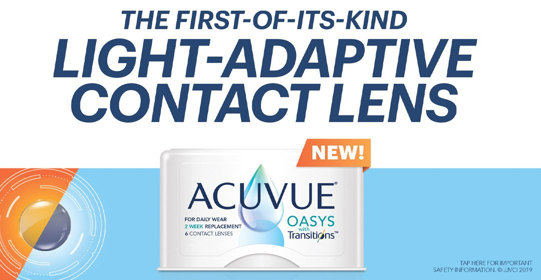 ACUVUE® OASYS with Transitions™ Contact Lenses
