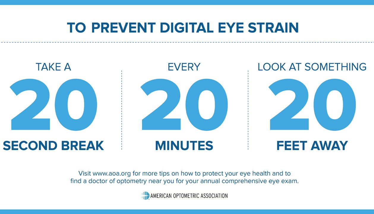 Prevent Digital Eye Strain